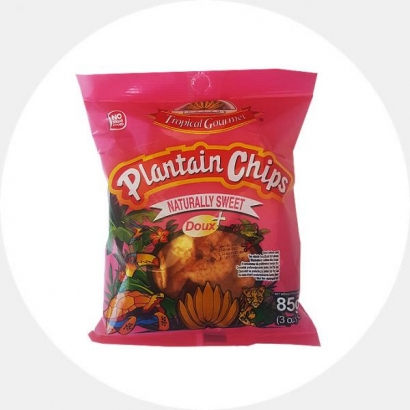 Extra sweet Plantain Chips