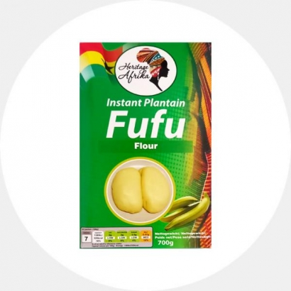 Plantain Fufu Flour Mix