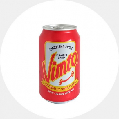 Vimto Carbonated Beverage With Fruit Flavor