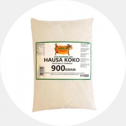 Hausa Koko (vürtsikas hirsijahu)