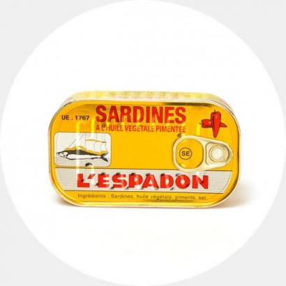 Sardiinid vürtsikas õlis