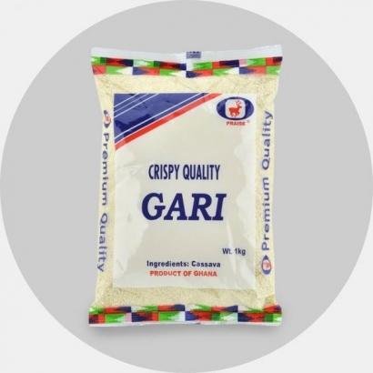 Gari (Maniokihelbed)