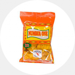 Spicy plantain chip