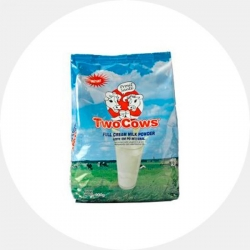 Two Cows Instant Milk Powder