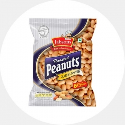 Röstitud maapähklid
