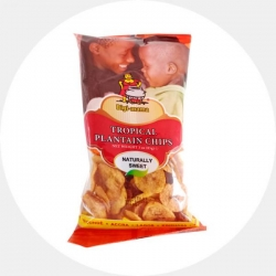 Naturally Sweet Plantain Chips